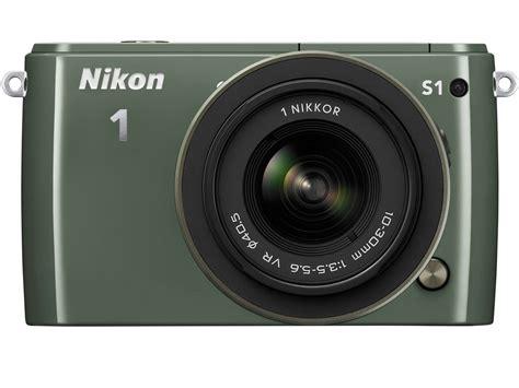 nikon s1 価格 nikon 1 s1 標準ズームレンズキット カーキ の製品画像