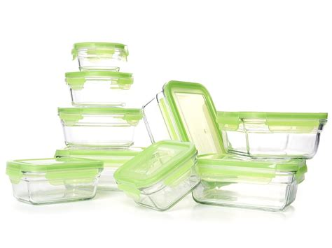 tempered glass food storage containers gold box deal glasslock snapware tempered glass food
