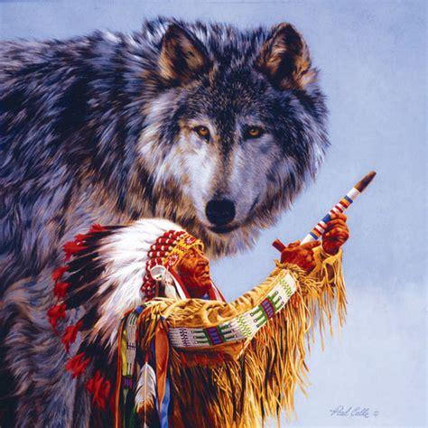 native american wolf spirit spirit of the wolf jigsaw puzzle puzzlewarehouse com