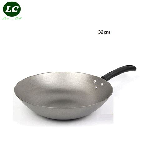 induction cooking with cast iron free shipping cast iron wok cooking pot no coating non stick work on induction cooker in woks