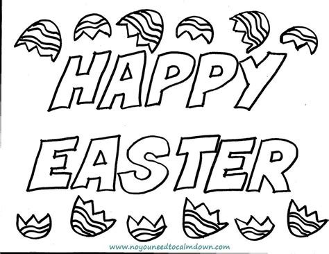 colors free printables no you need to calm down quot happy easter quot coloring page for kids free printable