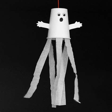 paper cup ghost kids crafts fun craft ideas