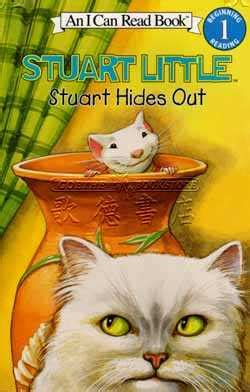 stuart little at the library an i can read picture book by hill hardcover barnes noble 174 an i can read book stuart little stuart hides out 全新正版產品 歌德英文書店