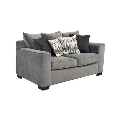 bobs furniture recliners 44 off bob s furniture bob s furniture grey loveseat