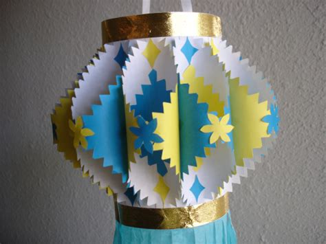 How To Make Paper Lanterns For Diwali - how to make an aakaash kandil diwali craft and origami