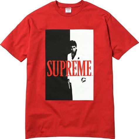 supreme shirts supreme scarface split