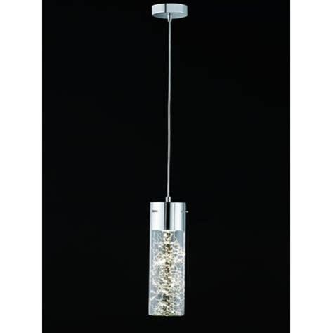 Tubular Ceiling Light by Franklite Frenzy Single Light Led Tubular Ceiling Pendant
