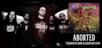 aborted terrorvision review james hetfield guitar is on sale esp explorer custom