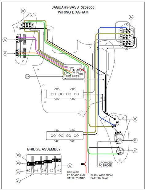 fender jaguar schematic
