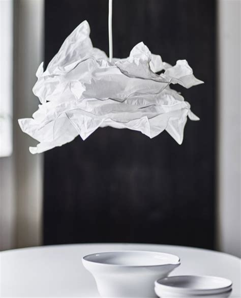 krusning lamp shade  sigga heimis  ikea ems designblogg