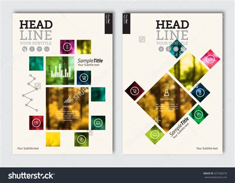 layout photography design business brochure design template vector flyer layout