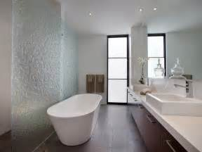 bathrooms ideas modern bathroom design with freestanding bath using frameless glass bathroom photo 739555