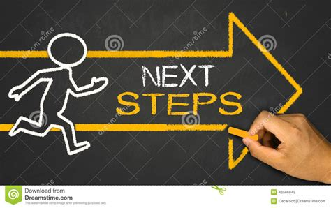 next steps concept stock photo image 46566849