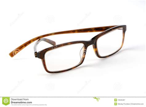 fashion glasses on a white royalty free stock photography