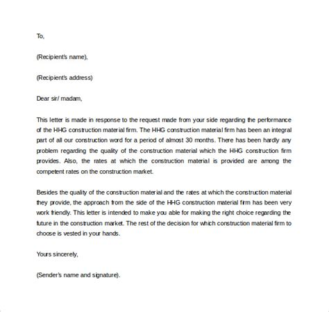 Business To Business Reference Letter Template Business Reference Letter 11 Free Documents In