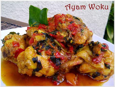 ayam woku catatan nina aneka resep masakan rumah