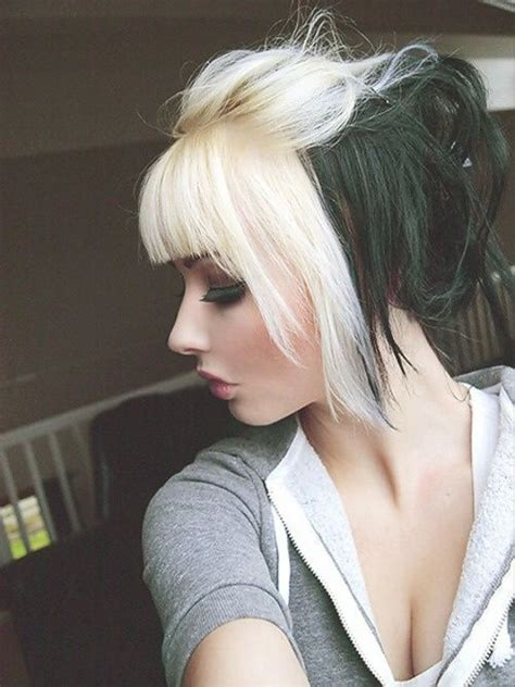 black hair with blonde in the front 27 best hairstyles to style your front hair updated for 2017