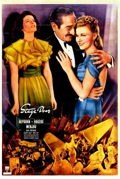 Stage Door 1937 by Stage Door Katharine Hepburn Rogers 1937