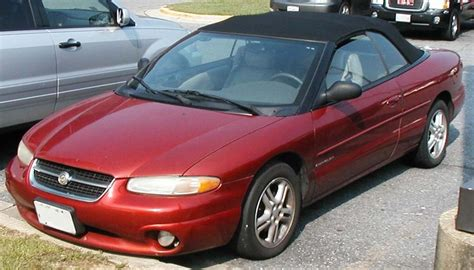 all car manuals free 1999 chrysler sebring regenerative braking file 1st sebring convertible jpg wikimedia commons