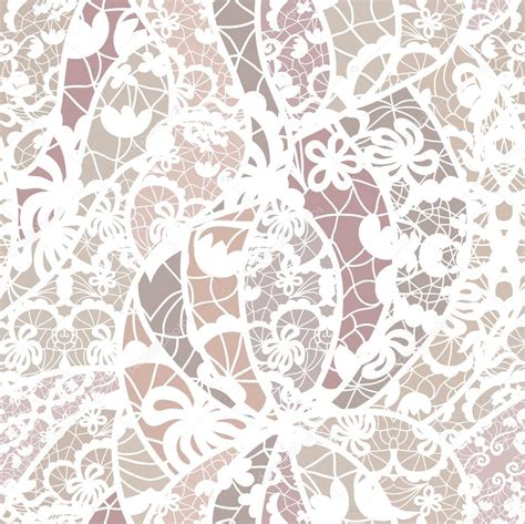lace seamless pattern vector lace vector fabric seamless pattern stock vector
