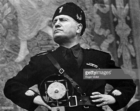 benito mussolini foto e immagini stock getty images
