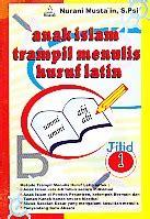 Dasar Dasar Evaluasi Pendidikan Ed 2 anak islam tril menulis huruf 1 toko buku