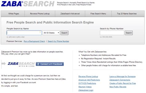 Find Peoples Records For Free Search Engines The Top 6 On The Web