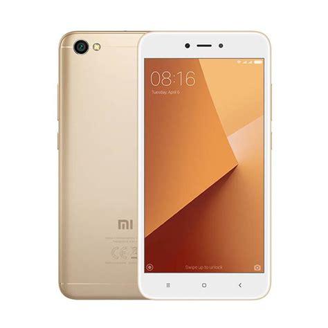blibli xiaomi redmi note 5a jual xiaomi redmi note 5a smartphone gold 16gb 2gb