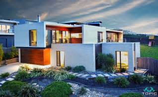 cantilever home sloping block house designs geelong split level home
