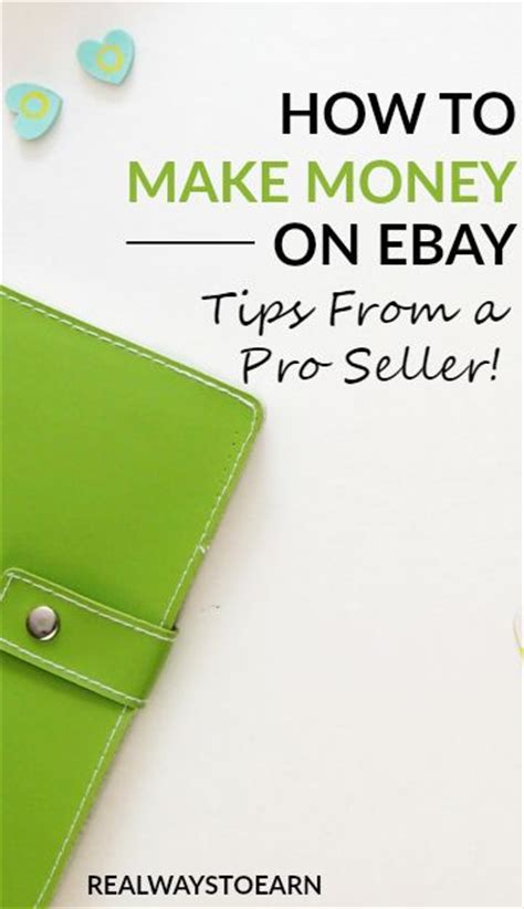How To Make Money Online Using Ebay - make real money from home selling on ebay
