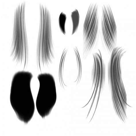 download hair brushes for photoshop cs5 25 free photoshop hair brushes sets to free download