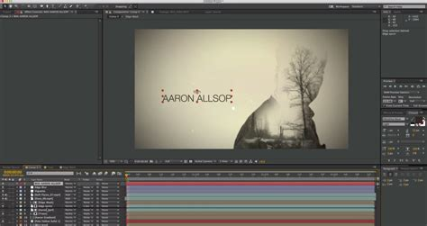 tutorial after effects true detective after effects keyframe