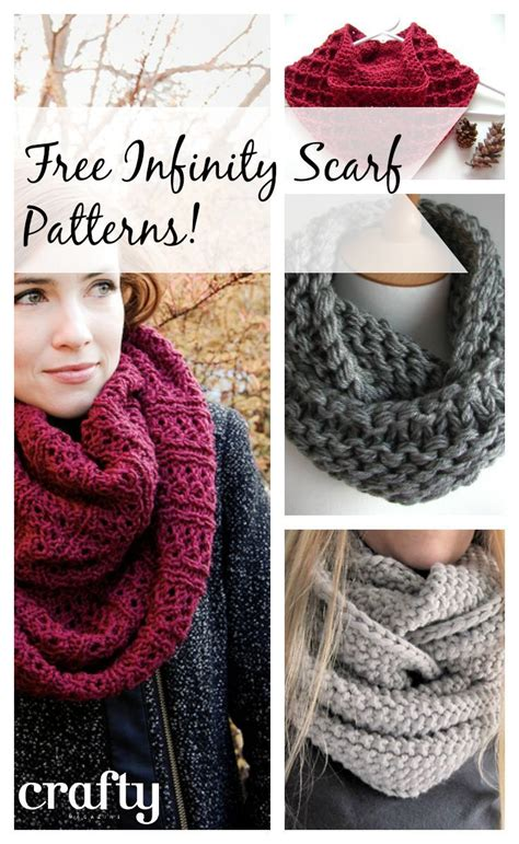 free knitting patterns for infinity scarves free infinity scarf patterns knitting and crochet