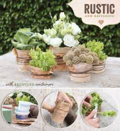 rustic table centerpieces diy tutorial rustic wedding centerpiece idea