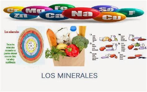 minerales en alimentos develando la salud los minerales