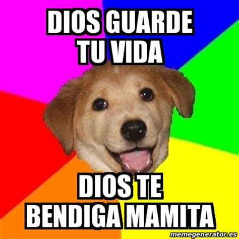 Advice Dog Meme Generator - meme advice dog dios guarde tu vida dios te bendiga