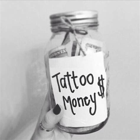 tattoo money jar money jar ideas money tattoos jars