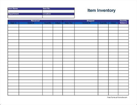 Vending Machine Inventory Spreadsheet by Pin Blank Chemical Inventory Form On