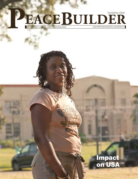 Eastern Mennonite Mba Program by Peacebuilder Fall Winter 2009 Alumni Magazine Of Emu S