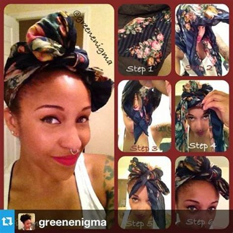 turban tutorial natural hair 1000 images about cute hair wrap styles on pinterest