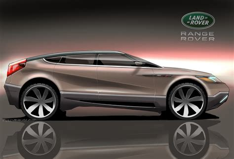 land rover concept range rover sd1 is a study on a fastback crossover carscoops