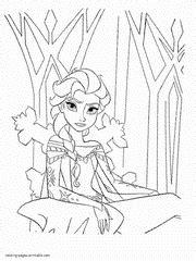 frozen mini coloring pages frozen coloring pages