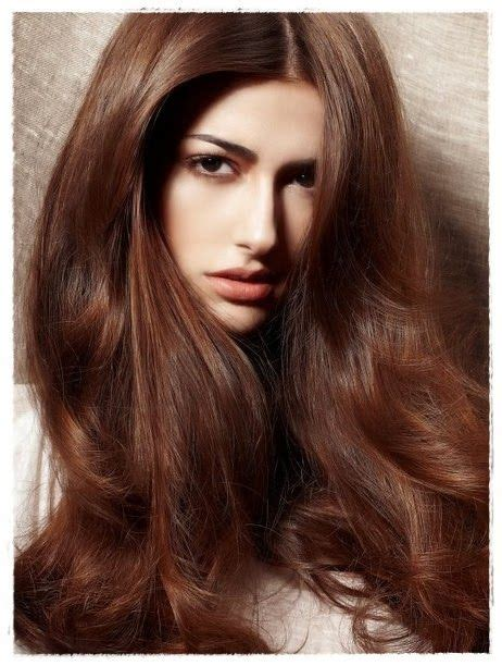 brown hair color by esalon light chestnut brown hair color hairstyle pinterest