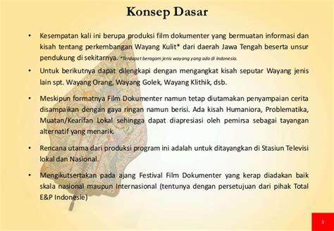 unsur film dokumenter proposal produksi film dokumenter