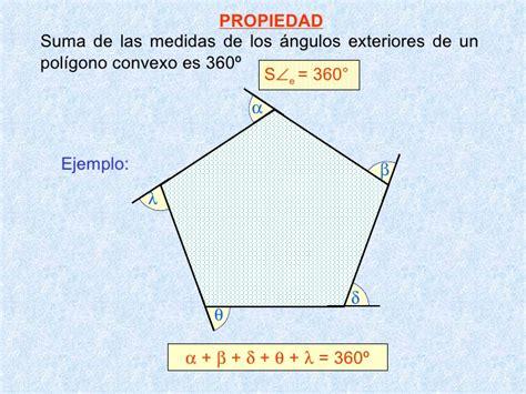 angulo interior de un poligono regular propiedades de los poligonos