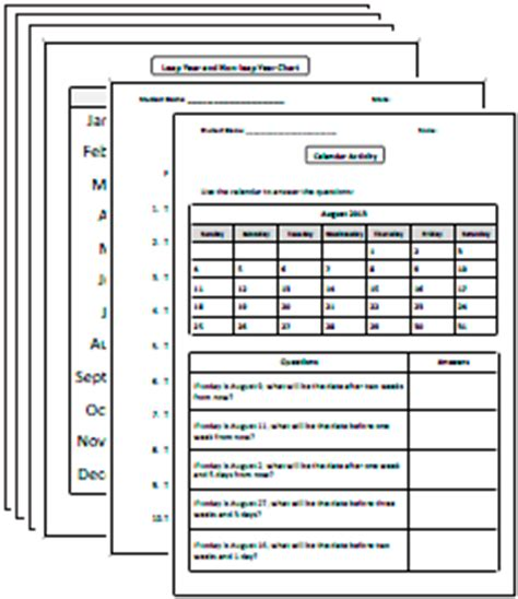 printable calendar ks2 time worksheets