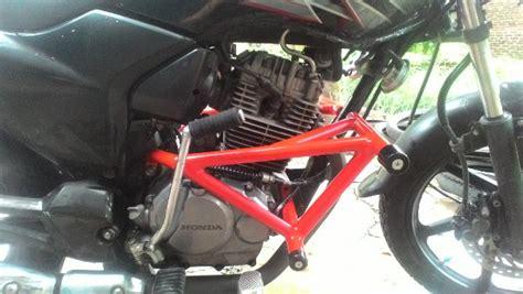 Kaos Motor Honda Tiger Revo 40255 jual tubular engine guard slider untuk megapro primus dan