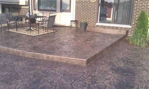 backyard concrete designs patio concrete designs oxford mi concrete contractors shelby twp mi sted