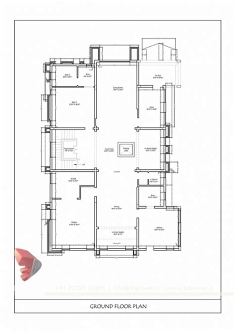 2d plan house 2d house plans india house interior