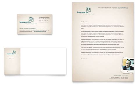 insurance company template insurance company business card letterhead template